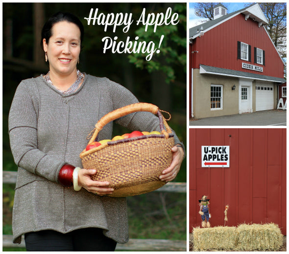Apple Picking in Pure Handknit