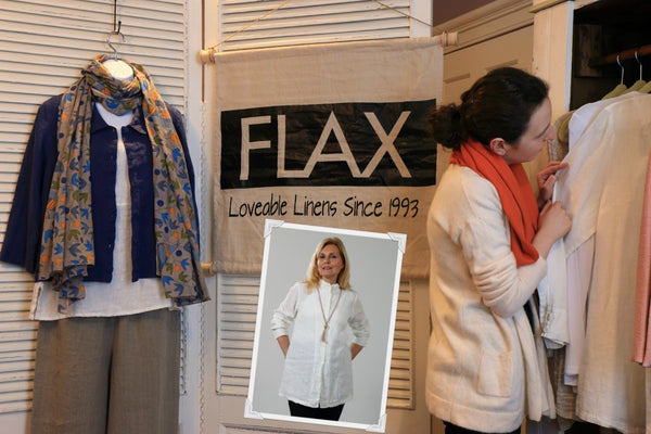 FLAX at LISSA the shop, in Domestic, Chatham, NJ