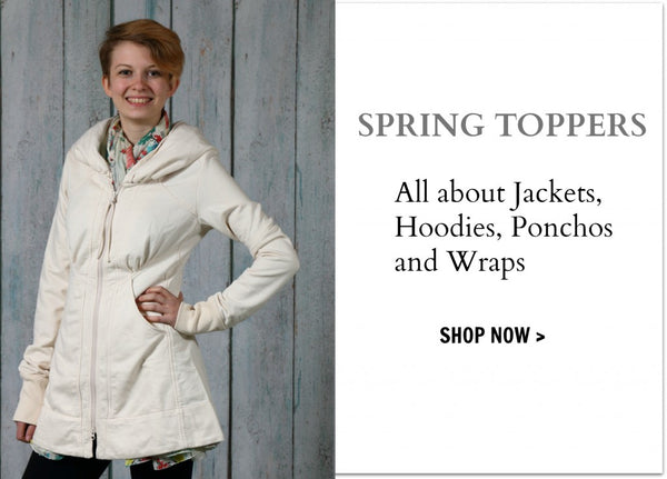 Spring jackets and wraps at LISSA the shop