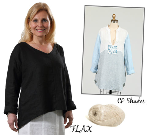 Linen Fashion by FLAX and CP Shades