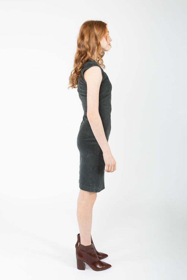 Prairie Underground Divergent Dress {Drab}