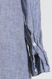 CP Shades Maxi Shirt Dress (Chambray Linen), Multiple Colors