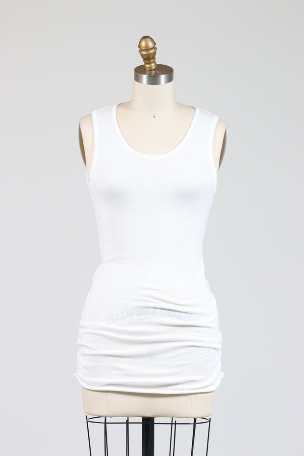 PLANET by Lauren G. Luxury Tank Top (Knit), Multiple Colors