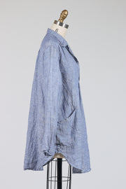 CP Shades Teton Tunic Top (Chambray Linen), Multiple Colors