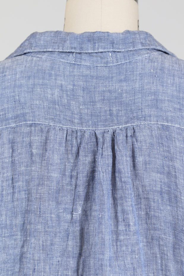 CP Shades Teton Tunic Tops (Chambray Linen), Multiple Colors
