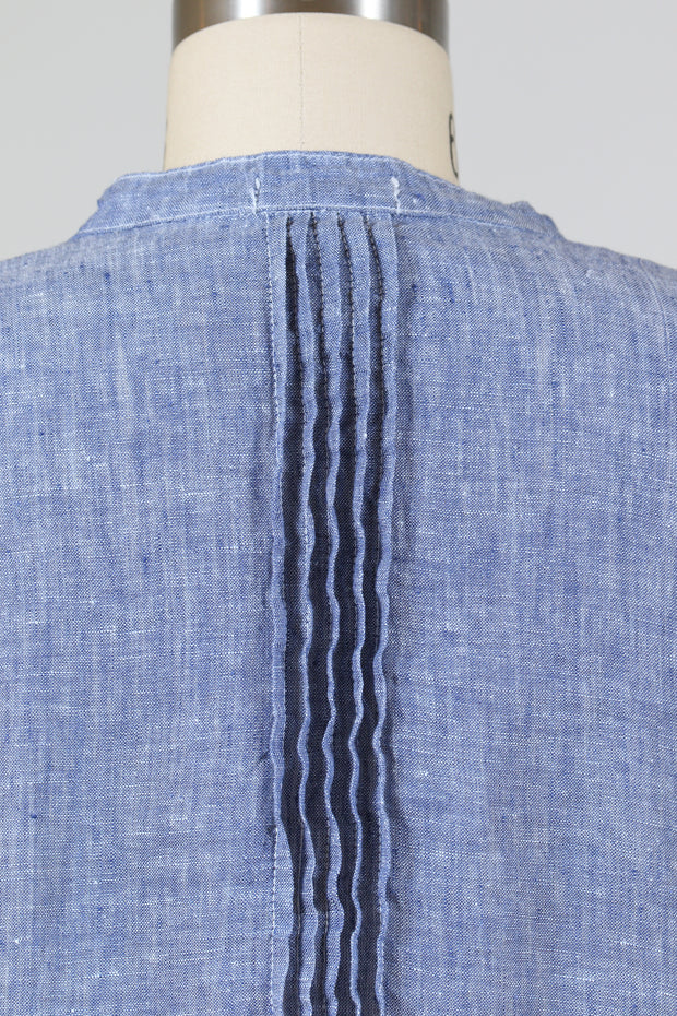 CP Shades Regina Tunic Tops (Chambray Linen)