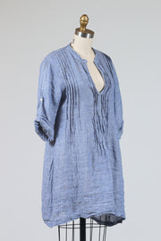 CP Shades Regina Tunic Top (Chambray Linen), Multiple Colors