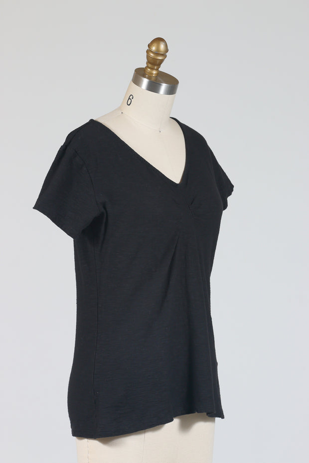 Cut Loose Tuck Front Tee (Short Sleeve), Multiple Colors