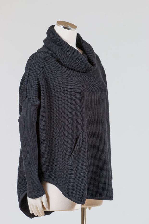 PLANET by Lauren G. Waffle Cowl Poncho