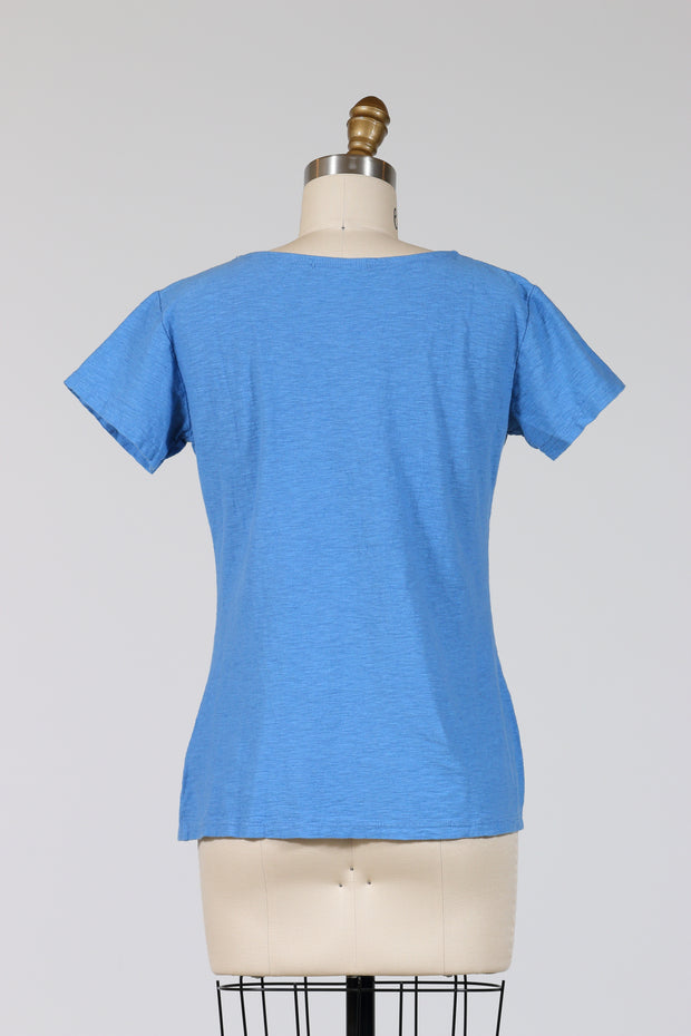 Cut Loose Tuck Front Tee (Short Sleeve)