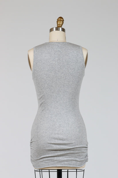 PLANET by Lauren G. Luxury Tank Top (Knit), Classic Colors