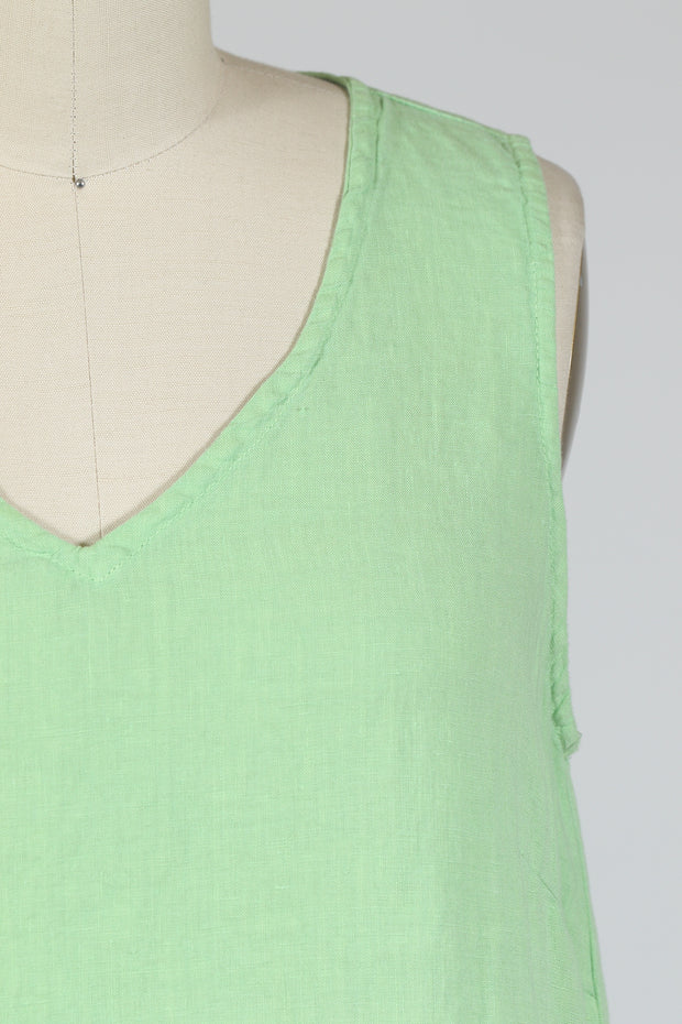 Cut Loose Flowy Tank (Hanky Linen), Multiple Colors