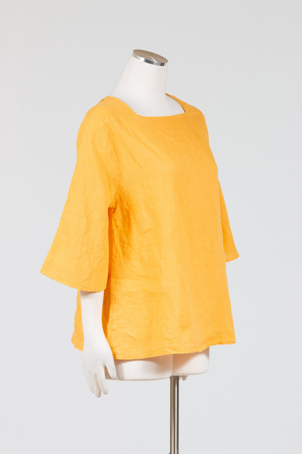 Cut Loose Flare Sleeve Top (Hanky Linen), Multiple Colors