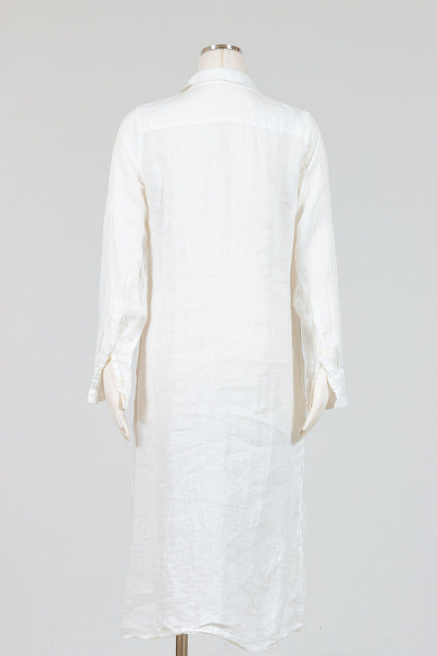 CP Shades Maxi Shirt Dress (Linen)