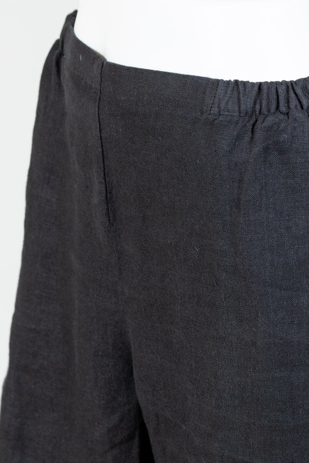 FLAX Pocketed Ankle Pant (Medium Weight Linen)