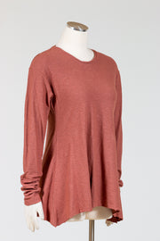 Cut Loose Long Sleeve Swing Top