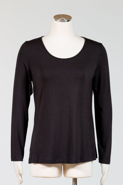 Chalet Long Sleeve Basic Top (Modal)