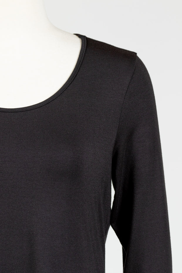 Chalet Long Sleeve Basic Top (Bamboo Cotton)