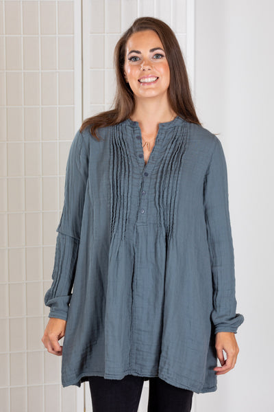 CP Shades Yoko Tunic Top (Double Cotton)