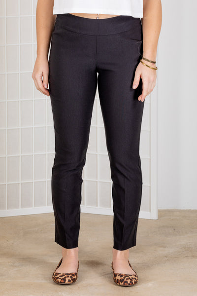 Tribal Flatten it Ankle Pant {Black/Ink}