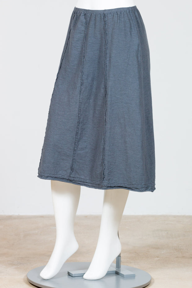 Cut Loose Seamed Skirt {Iron}