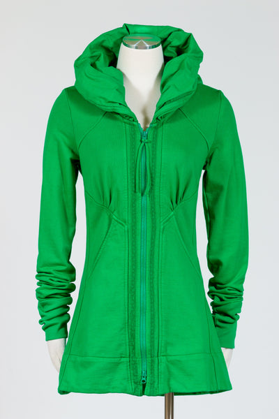 Prairie Underground Mid-Victorian Hoodie (French Terry){Kelly Green}
