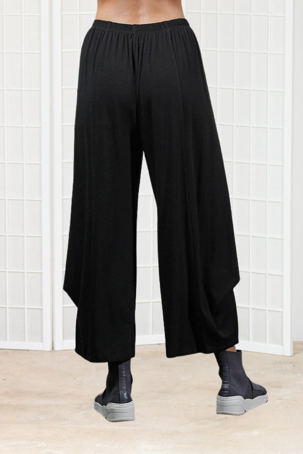 Chalet Beth Pant (Bamboo Cotton) {Black/Iron}