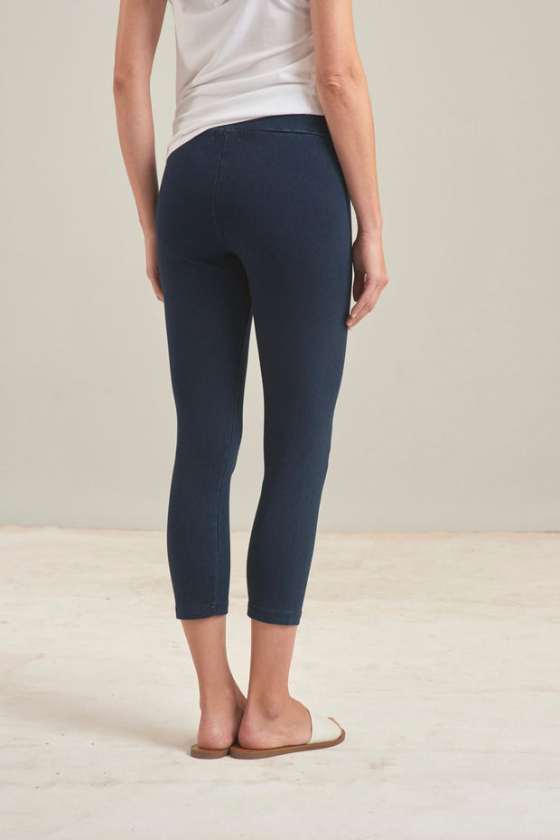 Habitat Crop Pants (Denim Stretch){FINAL SALE}