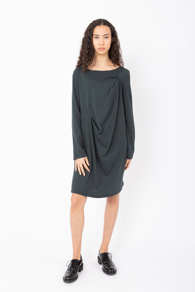 Prairie Underground Ideal Ease Dress (Cotton) {Black/Drab}