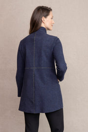Habitat Shaped Car Coat {Denim}