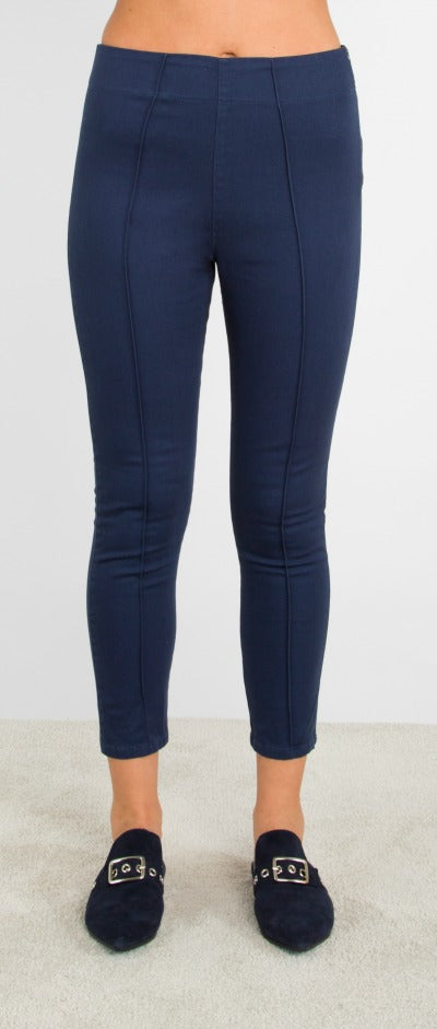 Prairie Underground Cigarette Cropped Leggings (Cotton Twill), Multiple Colors