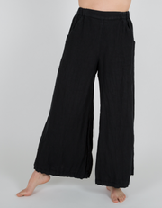 CP Shades Wendy Pants (Linen) {Black/White}