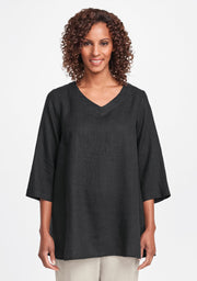 FLAX Bloom Tunic (Linen), Multiple Colors