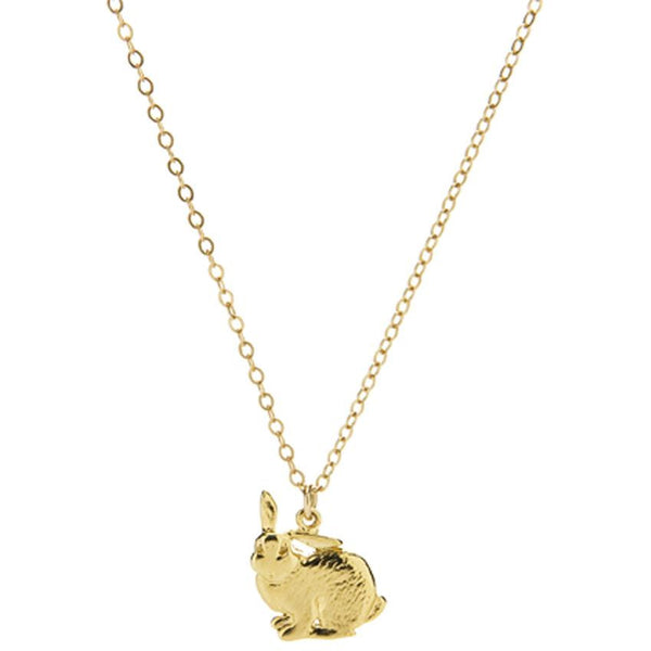 Rabbit Charm Necklace - kim baker