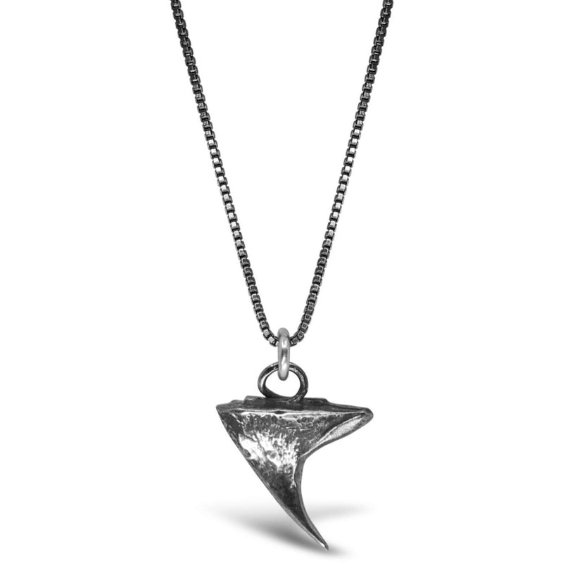 Silver Thorn Necklace - kim baker