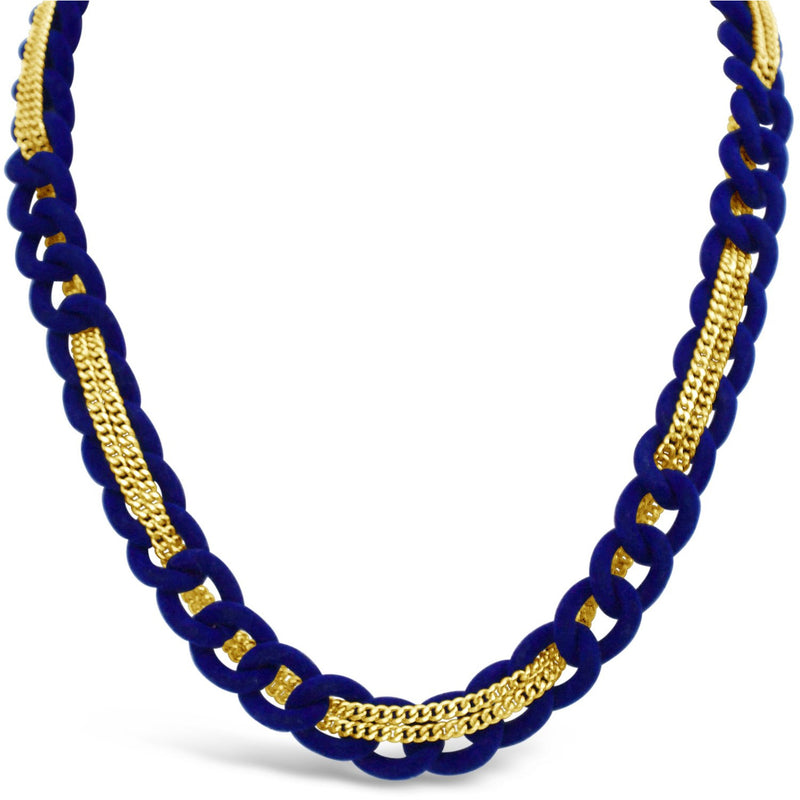 Fiona Necklace - Cobalt - kim baker