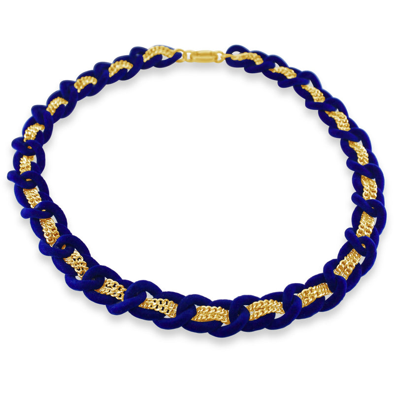 Jett Necklace - Cobalt - kim baker