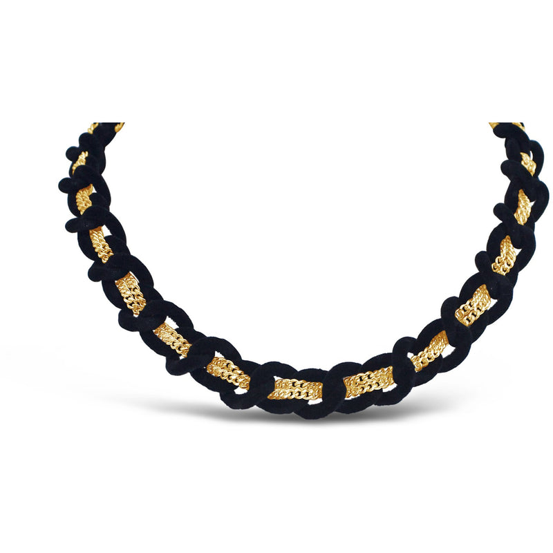 Jett Necklace- Black - kim baker