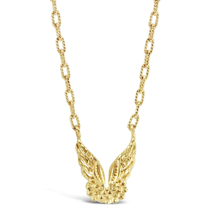 Gold Wing Necklace - kim baker