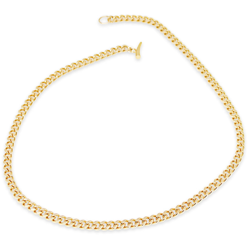 Gold Cuban Link Necklace