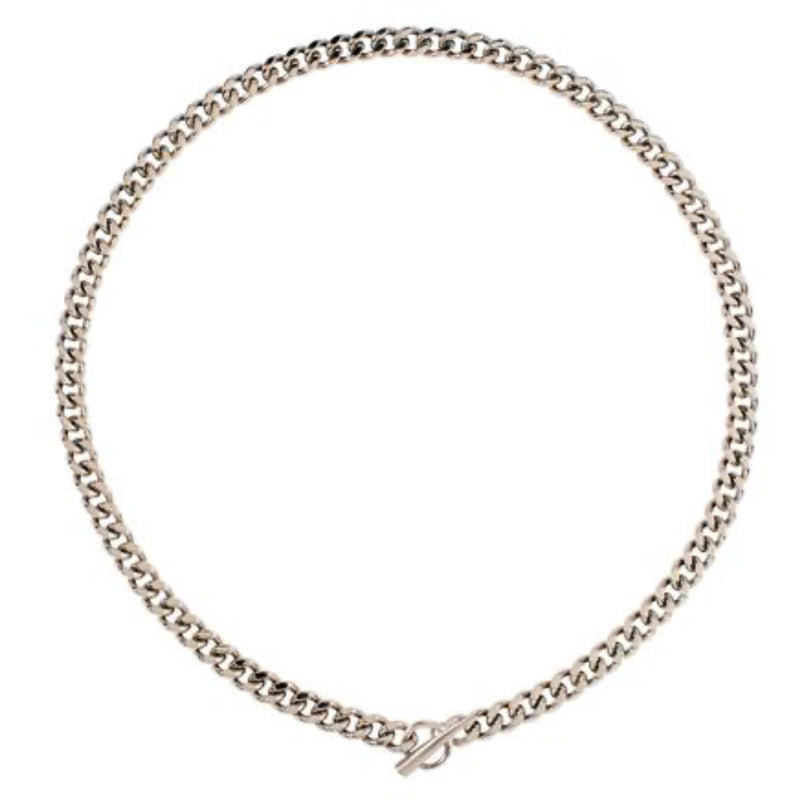 Silver Cuban Link Necklace
