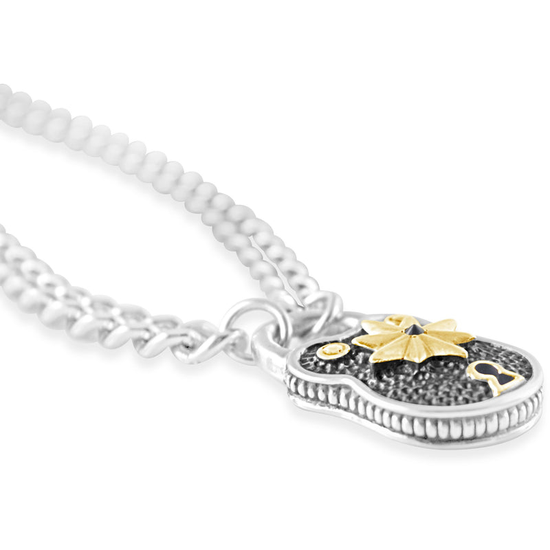 True North Padlock Necklace - kim baker