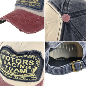 Vintage Racing Team Baseball Cap