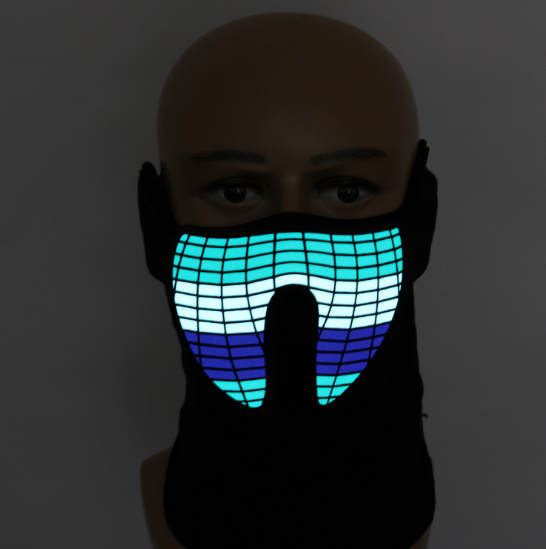 Sound Activated Light Up Mask