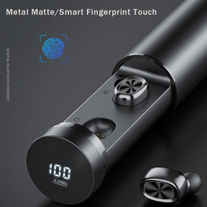2020 New Space Capsule Bluetooth Earphone