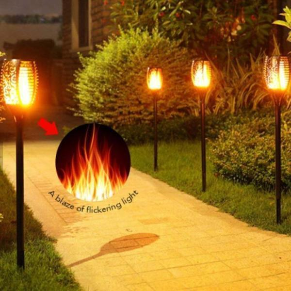 SOLAR FLAME TORCH[Last day promotion 40% OFF&Buy 4 Free Postage]