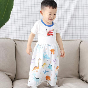 Comfortable children's diaper skirt