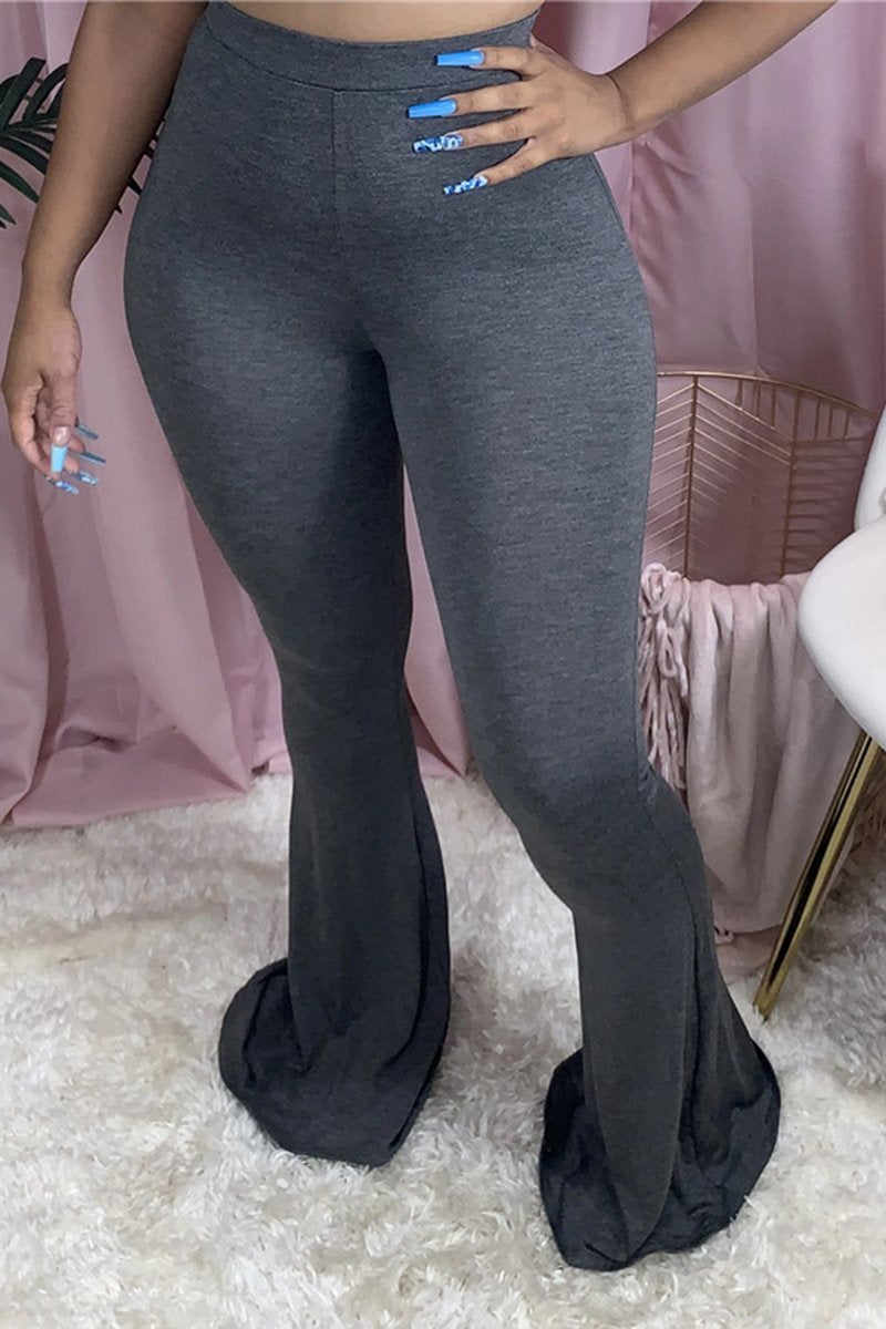 PLUS SIZE FLARED MULTIPLE COLOR PANTS #2