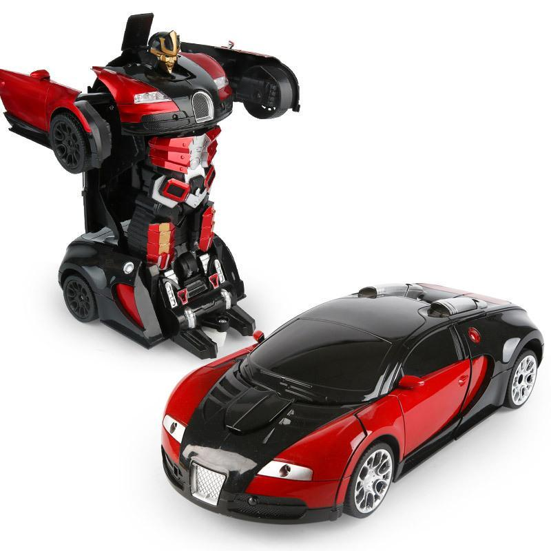 【Christmas Promotion! BUY 2 FREE SHIPPING】Gesture Sensing & Remote Control Transformation Car Model