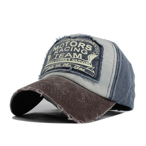 Vintage Motor Racing Baseball Hat
